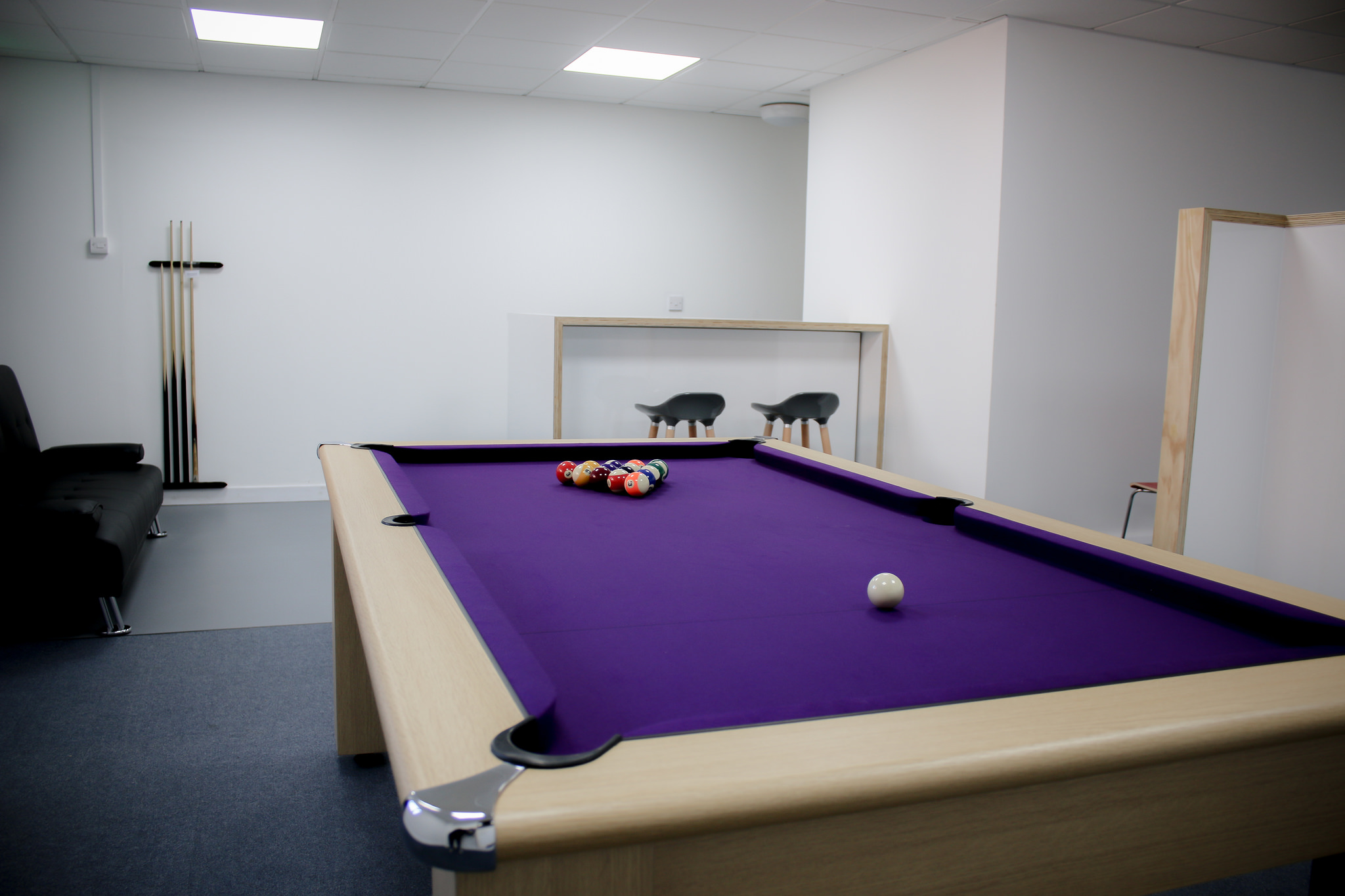 Aldrock's pool table