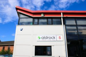 Exterior shot of Aldrock's offices