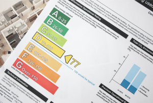 Energy Performance Certificate rating scale