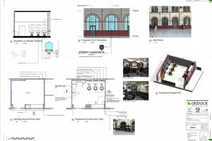 Barbershop in Victoria Station blueprints