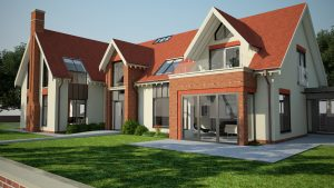 Lytham Dwelling Conversion 3D rendered image