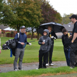 Golfers at the Charity golf day