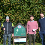 Team at the Charity golf day