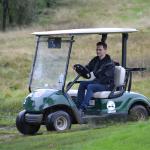 Gary Willis at Charity golf day