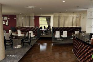 One design option for the Marco Pierre White Oxford