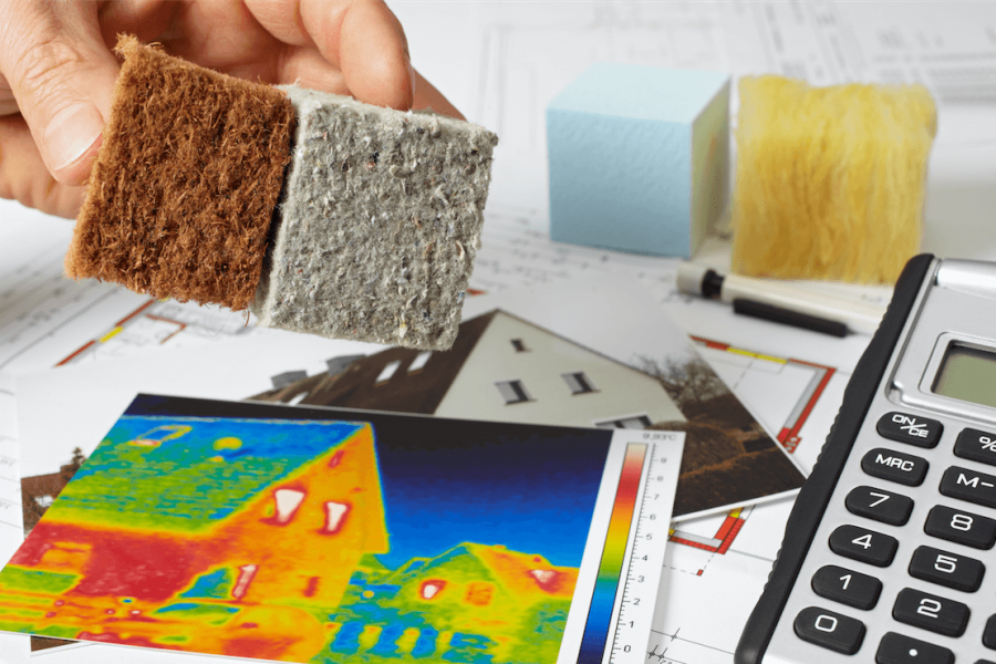 Thermal insulation options for a home